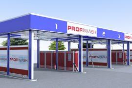 Модульні мийки самообслуговування PROFIWASH Outdoor